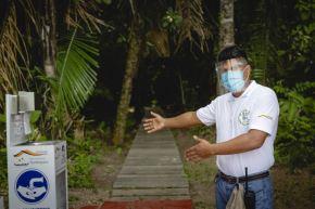 La Reserva Nacional Tambopata reanudó hoy su atención a los turistas que buscan destinos de naturaleza. ANDINA/Difusión