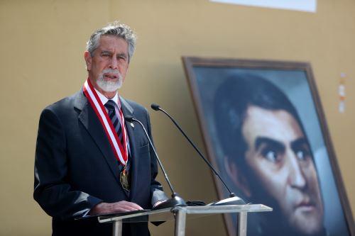 Presidente Francisco Sagasti encabeza la ceremonia de conmemoración del Bicentenario de la Expedición Libertadora en Huaura