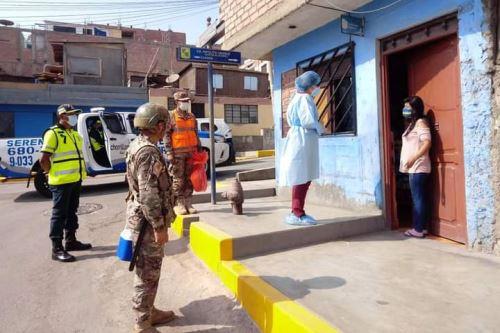 Coronavirus: Minsa y Diris Lima Sur brindan servicios de salud en distritos de Chorrillos y Villa El Salvador
