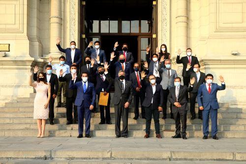 Presidente Francisco Sagasti se reunió con representantes de AMPE