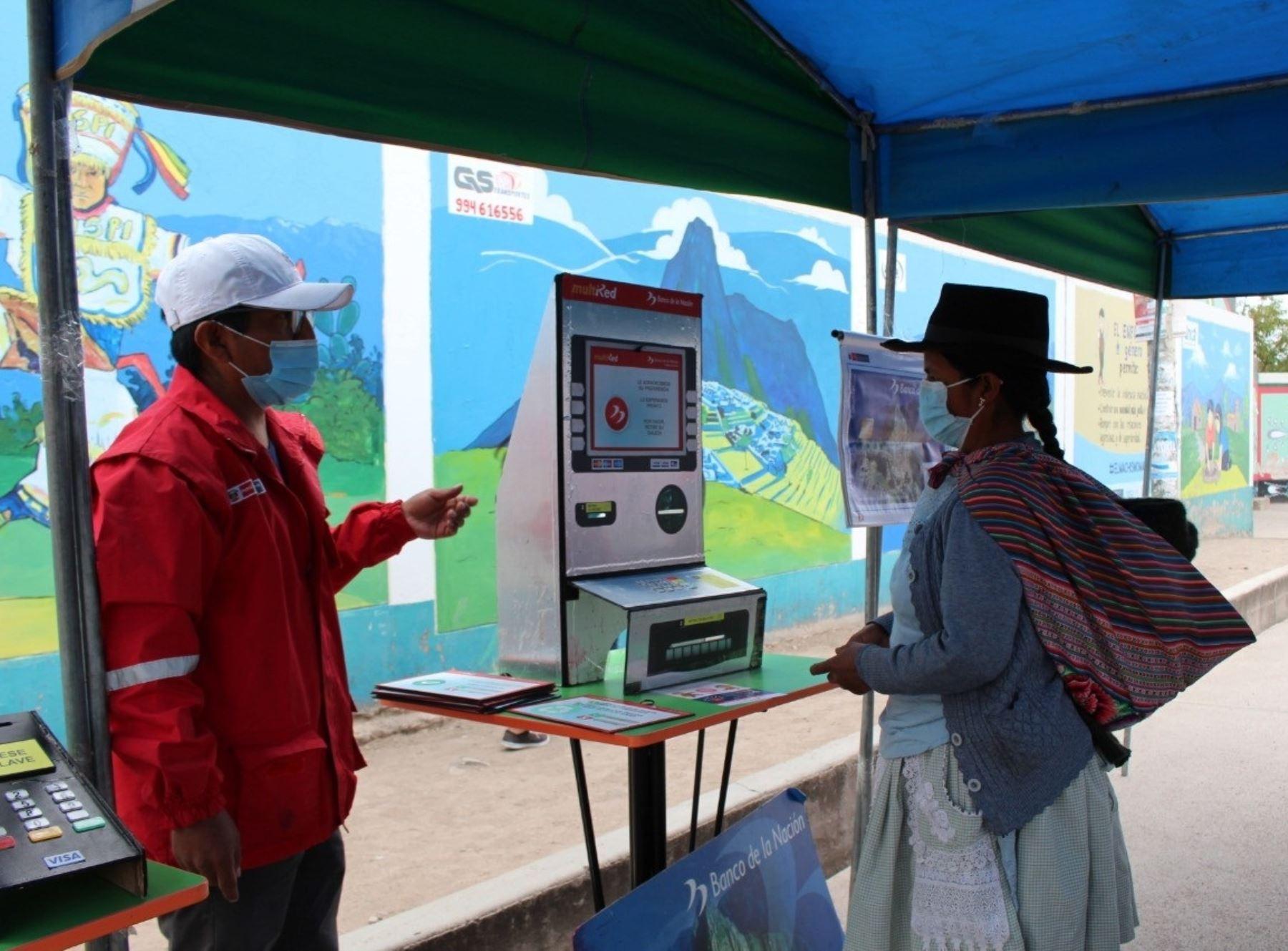 Programa Juntos realiza campaña de educación financiera en quechua en Ayacucho. ANDINA/Difusión