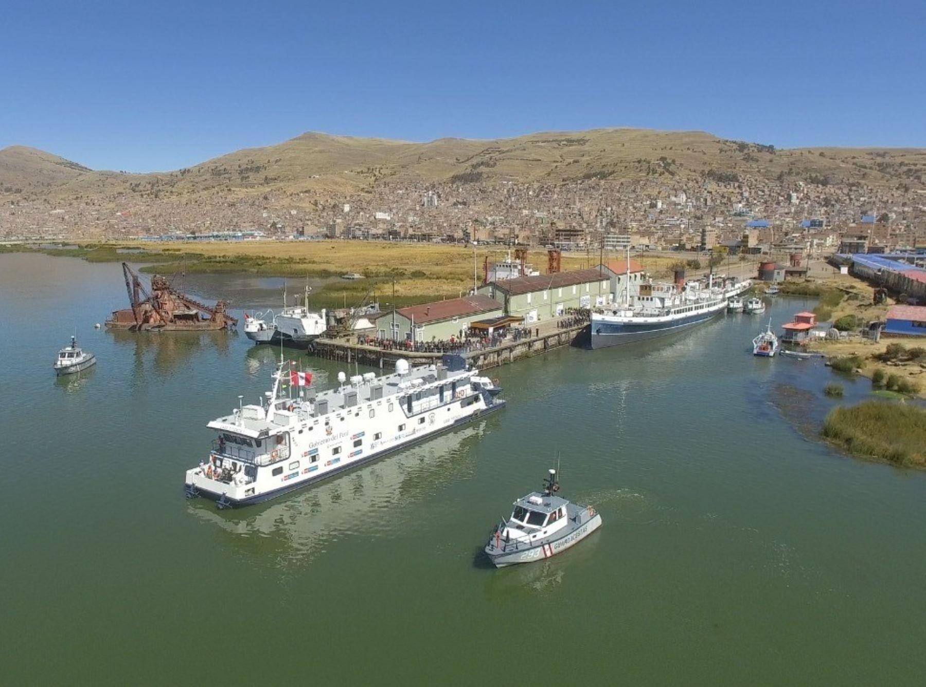La tercera y última campaña de acción social del año que realizará la PIAS Lago Titicaca beneficiará a más de 9,000 pobladores de diversas comunidades de Puno. ANDINA/Difusión