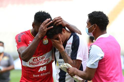 El llanto de los jugadores de Alianza Lima