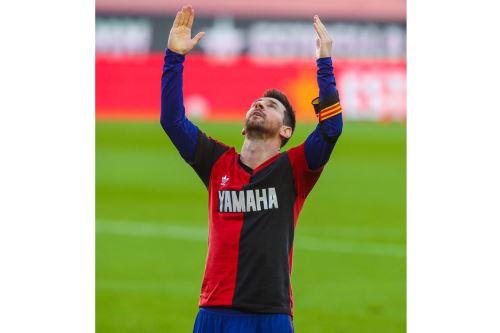 La Liga: Barcelona golea 4-0 al Osasuna y Messi dedica gol a Diego Armando Maradona