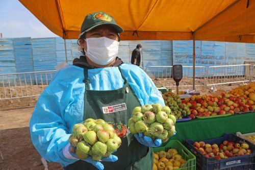 "Minagri impulsa "" Mercados itinerantes"" que facilitan acceso de productos de Agricultura Familiar a los consumidores"