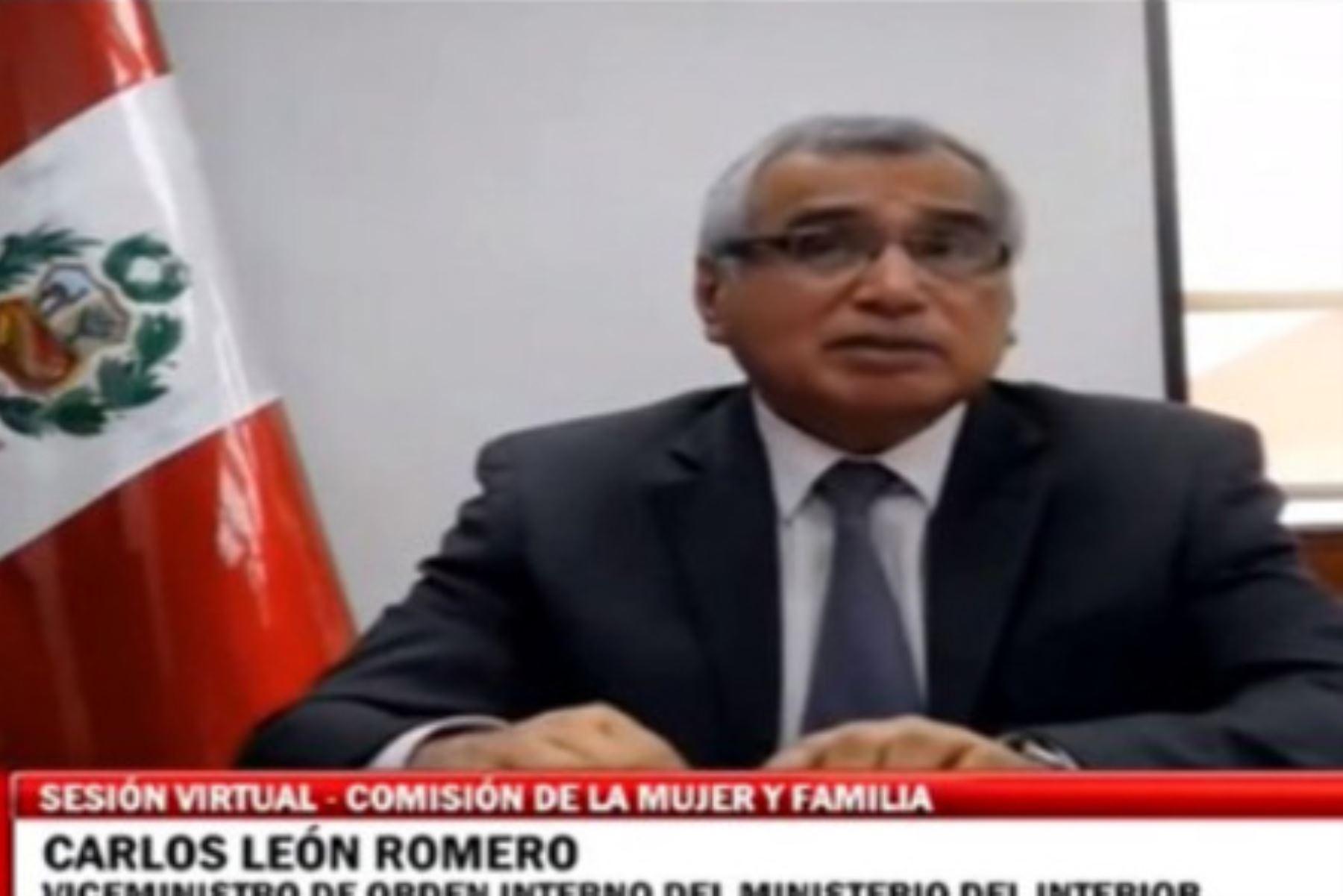 """El viceministro de Orden Interno del Mininter, Carlos León Romero, señaló que """"el Grupo Terna es fundamental para combatir la delincuencia común y la microcomercialización de drogas"""". Foto: ANDINA/Mininter"""