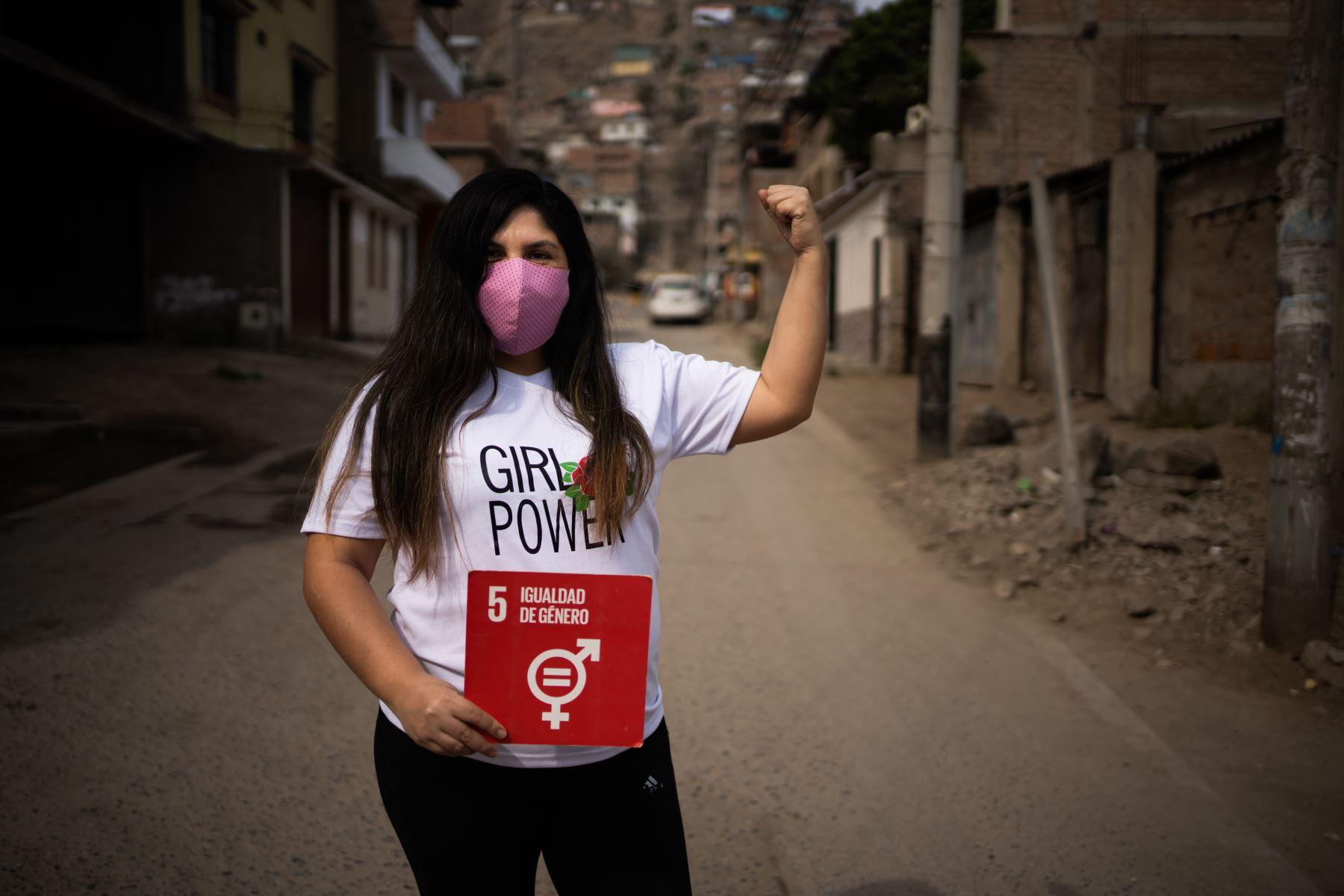 Cintia Vargas es parte del programa Guerrero Emprendedor, una iniciativa para fortalecer el emprendimiento en tiempos de pandemia. Foto: Cortesía del programa Guerrero Emprendedor / ANDINA