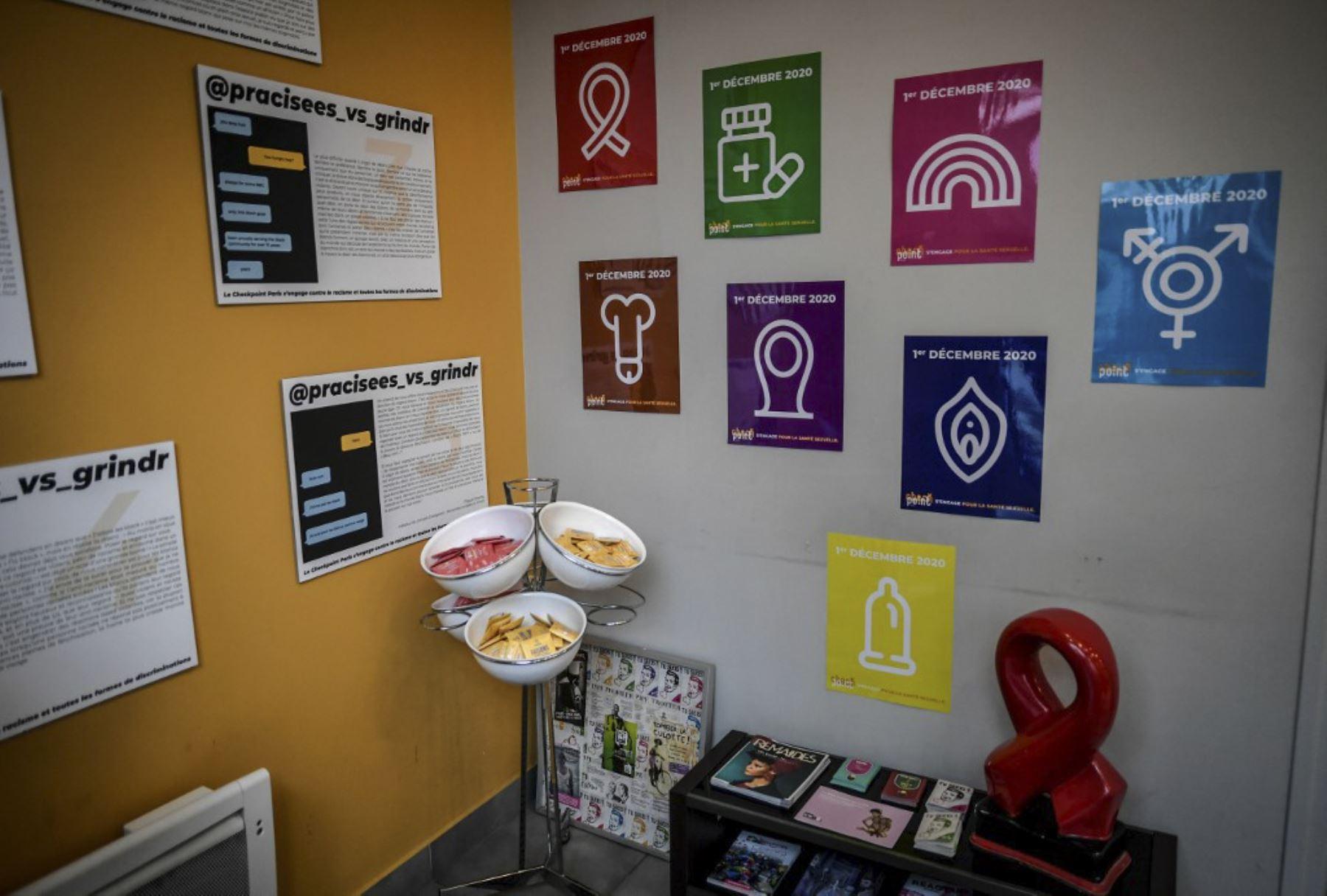 Una foto muestra las instalaciones del centro de prevención y detección CheckPoint de París en París, el 1 de diciembre de 2020. Foto: AFP