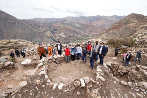 El ministro de Cultura inaugura el Museo Municipal del distrito de Pilchaca y visita el Centro  Arqueológico Willkaymarca  en Huancavelica