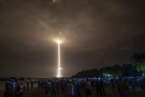 Así fue el despegue de la sonda china Chang