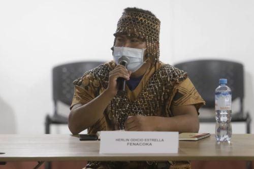 El ministro de Justicia junto a viceministros de los sectores Cultura, Ambiente y Minsa se reúnen con autoridades de organizaciones indígenas de Ucayali