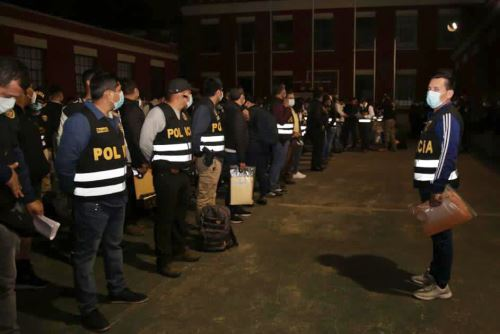 Policía captura a más de 70 miembros de Sendero Luminoso y Movadef