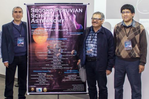 Astrónomo sanmarquino Jorge Meléndez (1° de la izq.) entre los científicos más influyentes del mundo