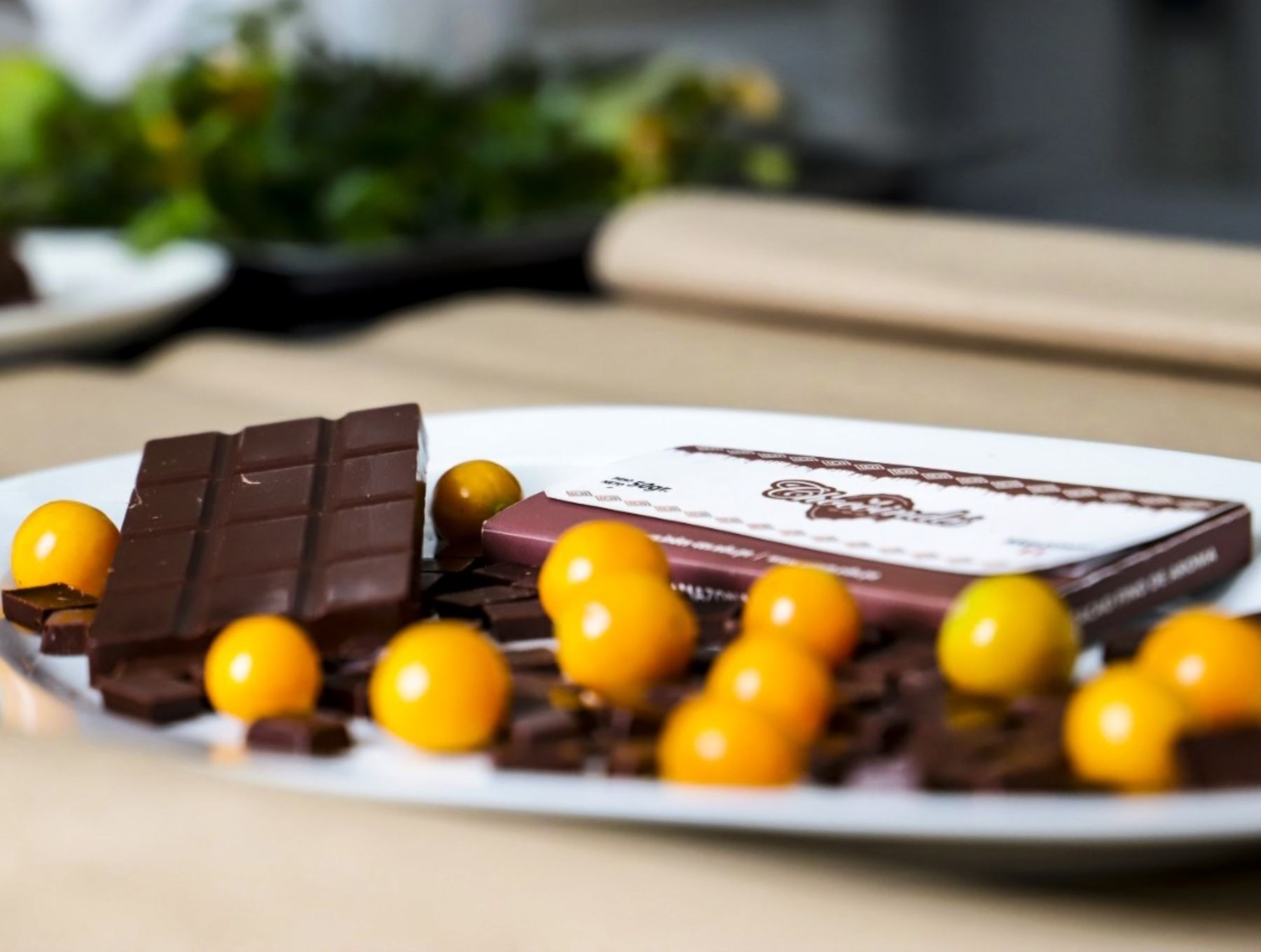 Universidad Nacional Toribio Rodríguez de Mendoza de Amazonas elabora chocolates aromatizados con frutos nativos para dar valor agregado al cacao nativo. ANDINA/Difusión