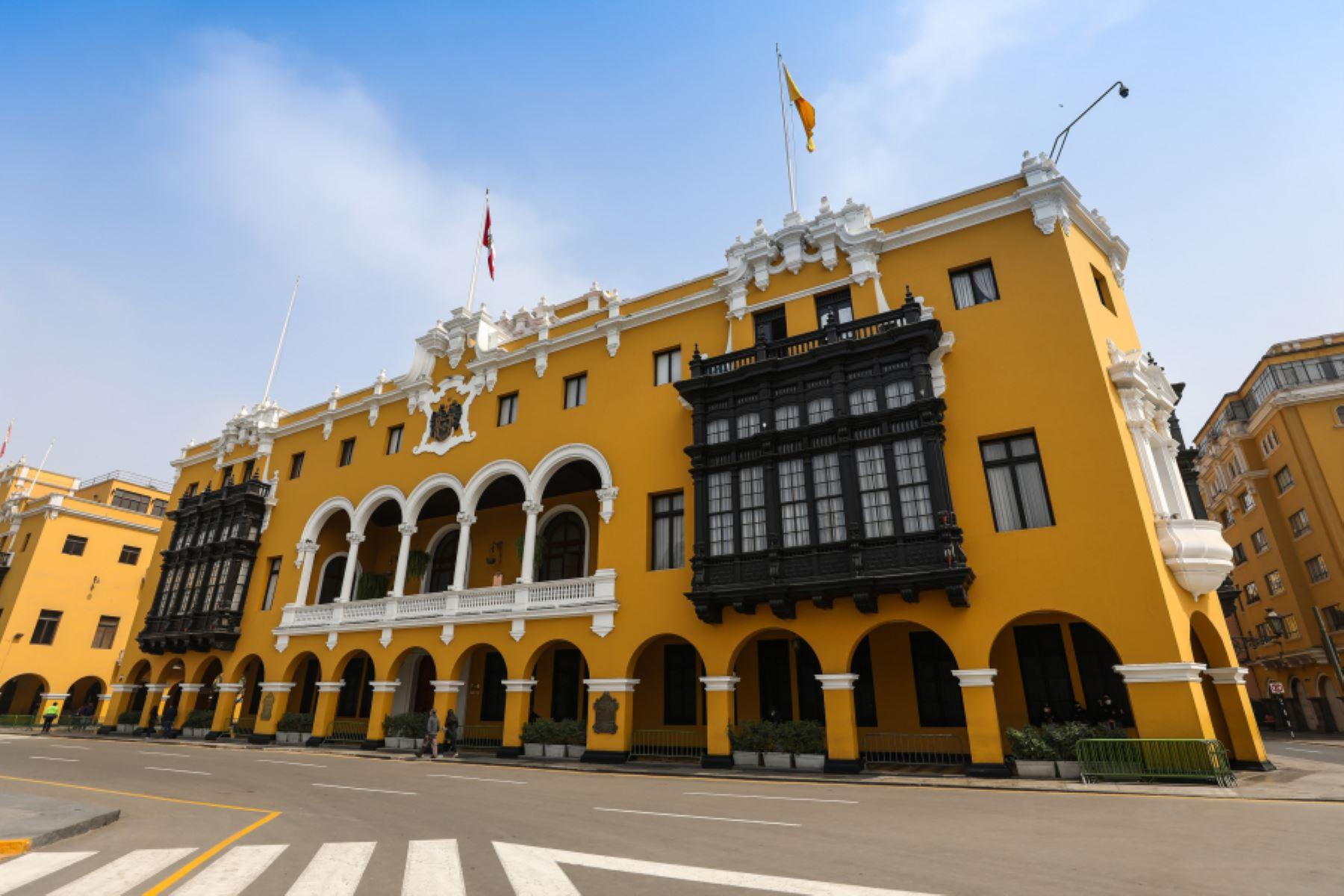 Sede de la Municipalidad de Lima. Foto: ANDINA/Difusión.