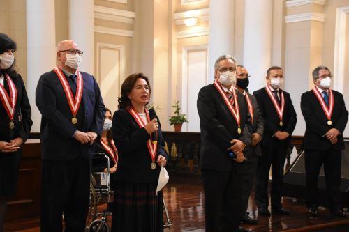 Elvia Barrios es elegida presidenta del Poder Judicial