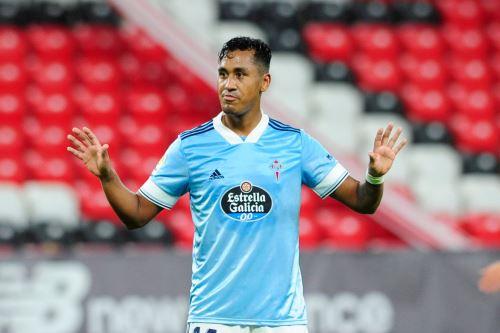 Celta de Vigo de Renato Tapia gana 2 a 0  al Atlético  Bilbao en el partido por  La Liga Santander