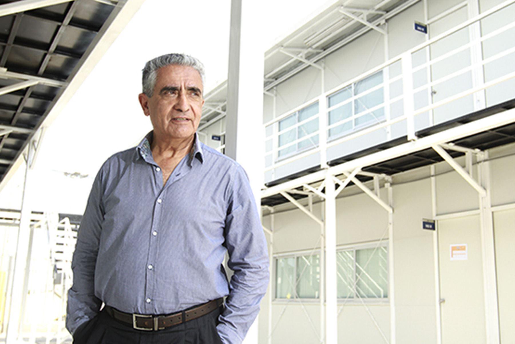 Benjamín Marticorena Castillo es físico de la Universidad Nacional de Ingeniería (UNI) y tiene un doctorado por la Universidad de Grenoble, Francia (Foto: PUCP)