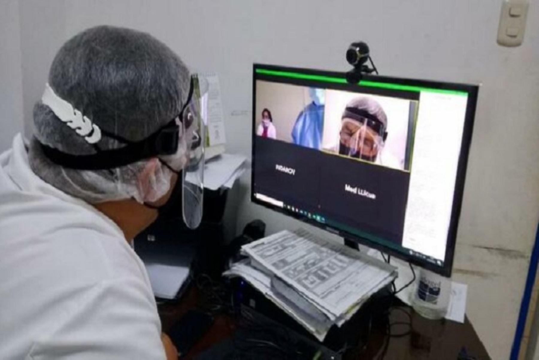 Para prevenir los contagios con el nuevo coronavirus entre los pacientes que acuden a hospital de Mollendo se dispuso la atención médica a través de teleconsultas. Foto: ANDINA/Difusión