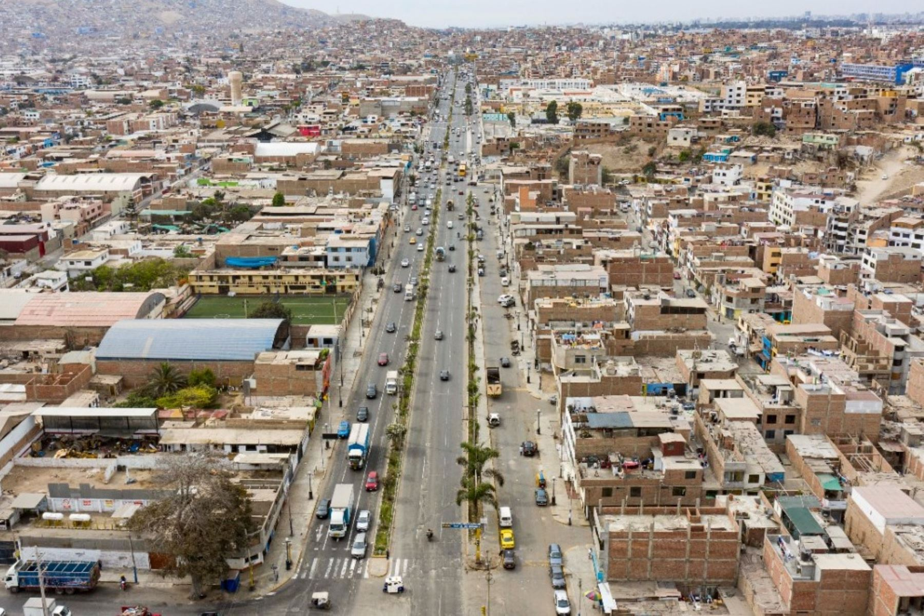 Chorrillos: iniciarán trabajos de rehabilitación en avenida Defensores del Morro. Foto: ANDINA/Difusión.