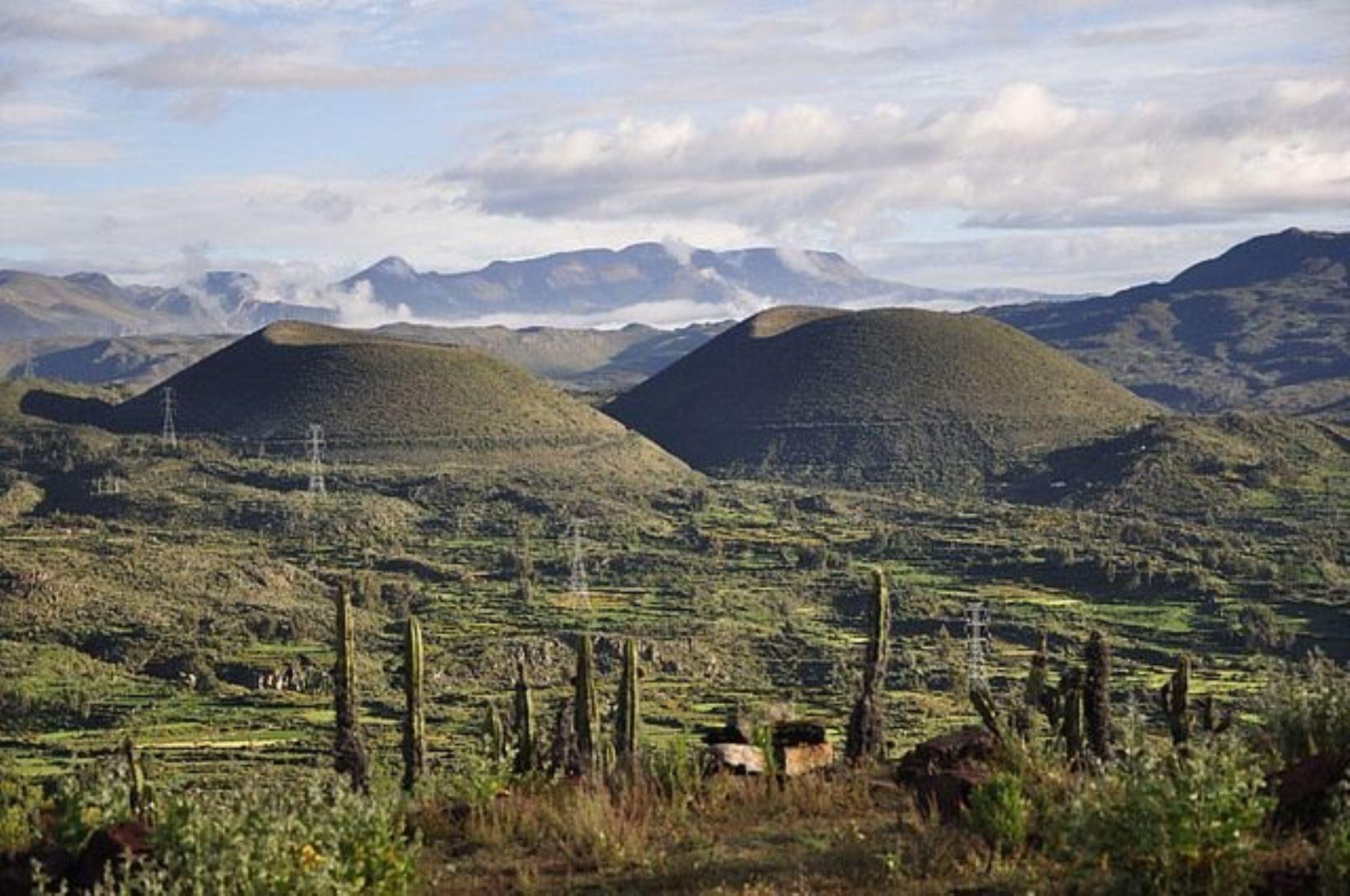 Geoparque Volcanes de Andagua, en la región Arequipa. ANDINA/Difusión