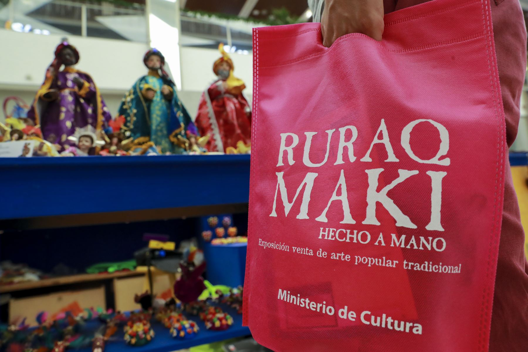 Ruraqmaki.pe expone en esta etapa de pandemia en las plataformas digitales. ANDINA/Carla Patiño Ramírez