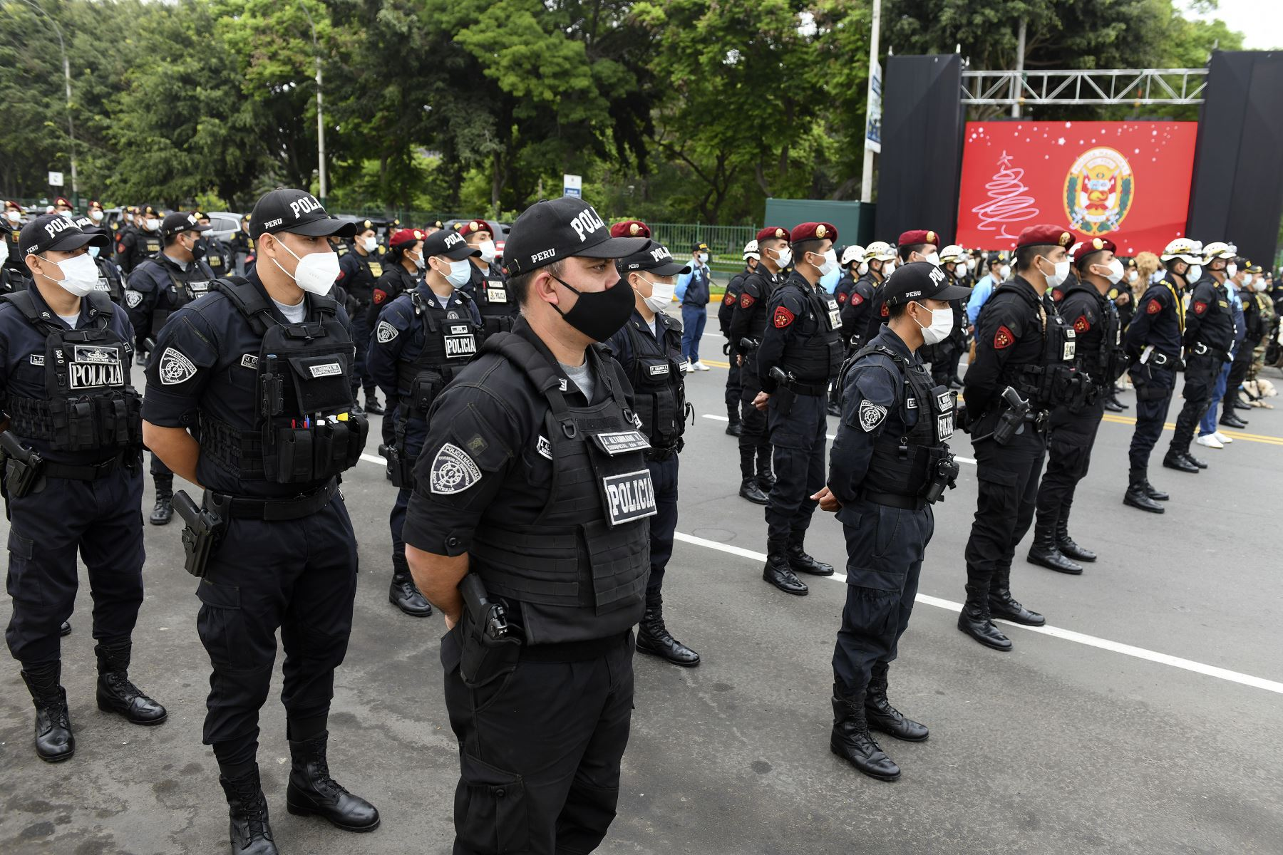 Efectivos policiales. Foto: ANDINA/difusión.