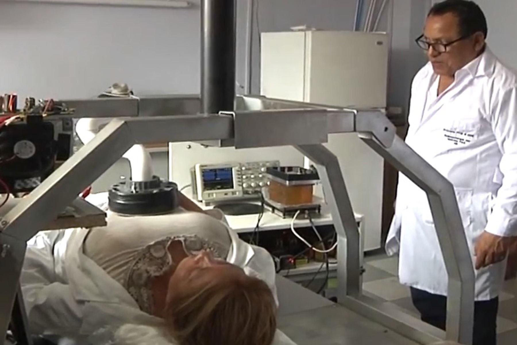 Científicos de la UNI desarrollan tecnología con radiofrecuencia para pacientes covid-19