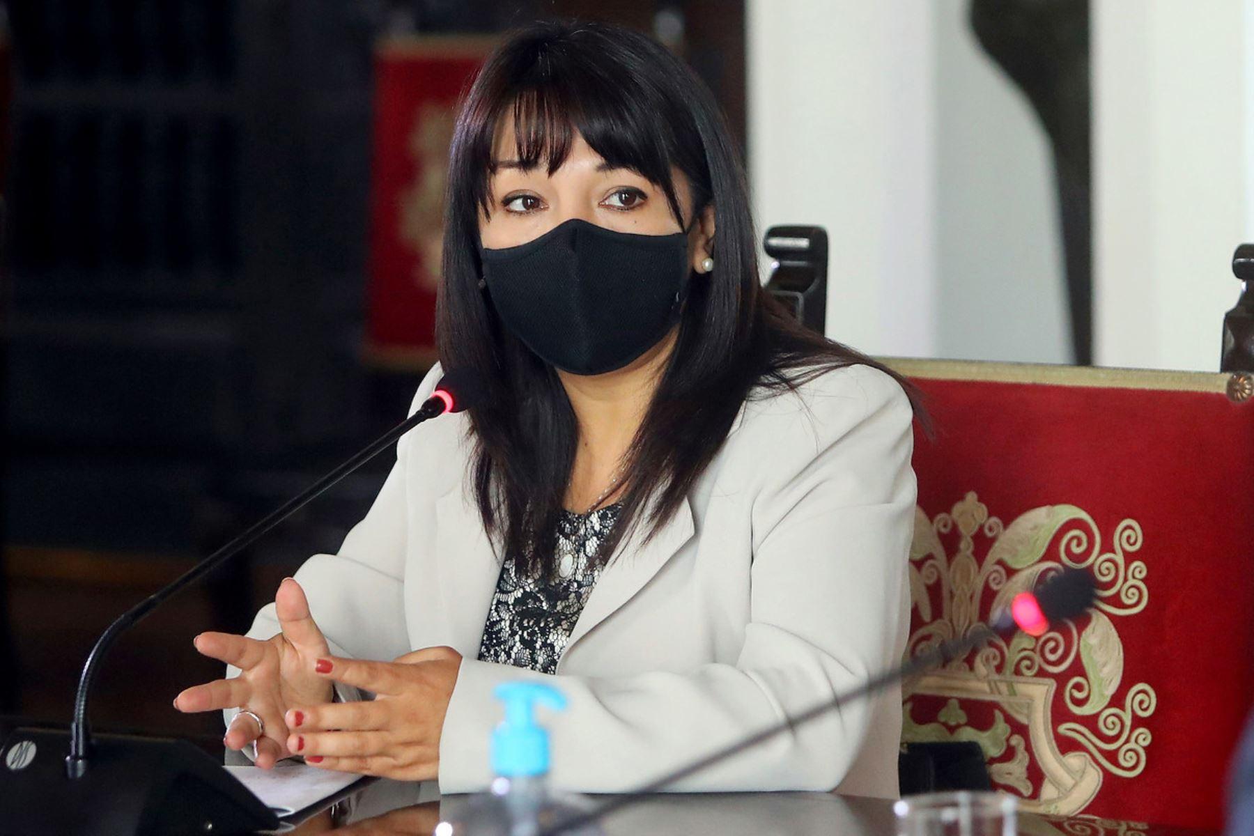 Presidenta del Congreso, Mirtha Vásquez. ANDINA/Difusión