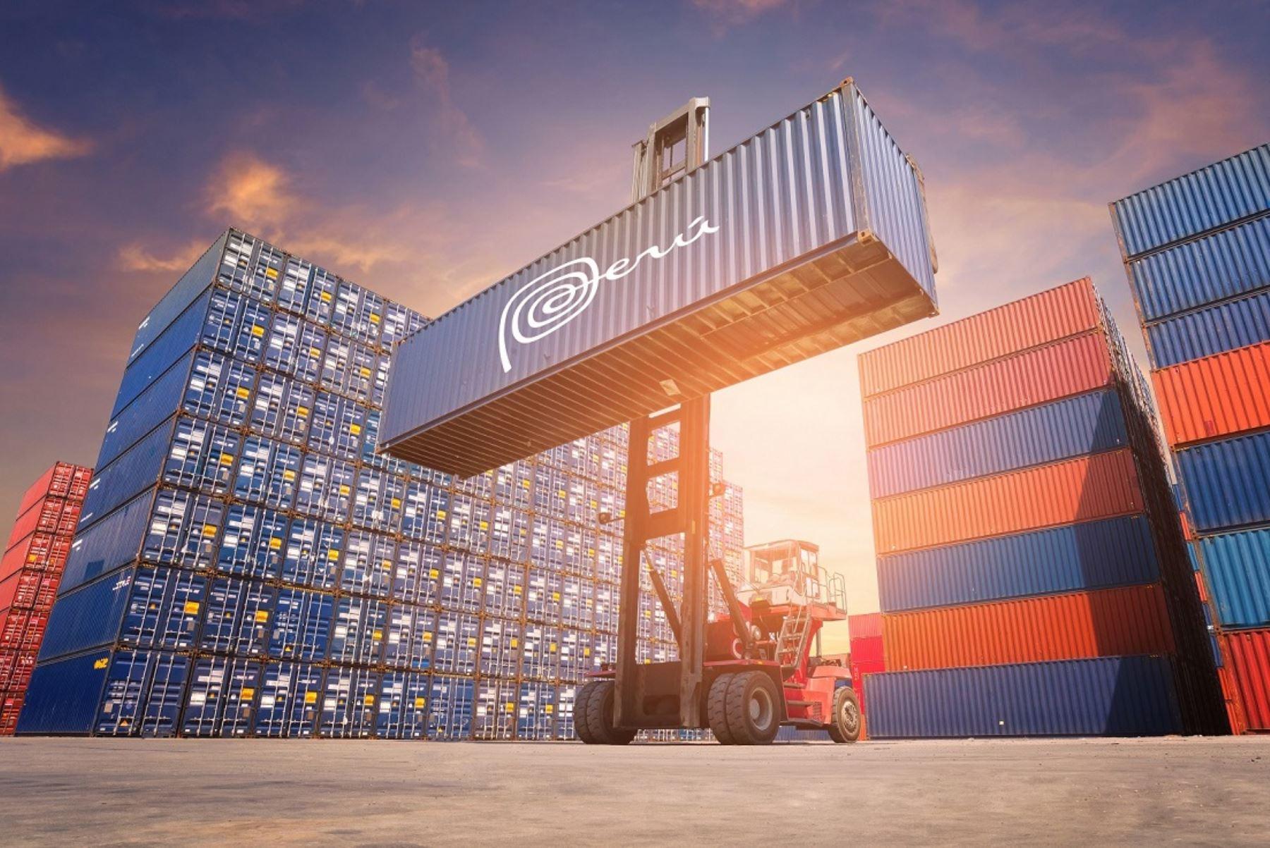 Operaciones de comercio exterior. ANDINA/Difusión