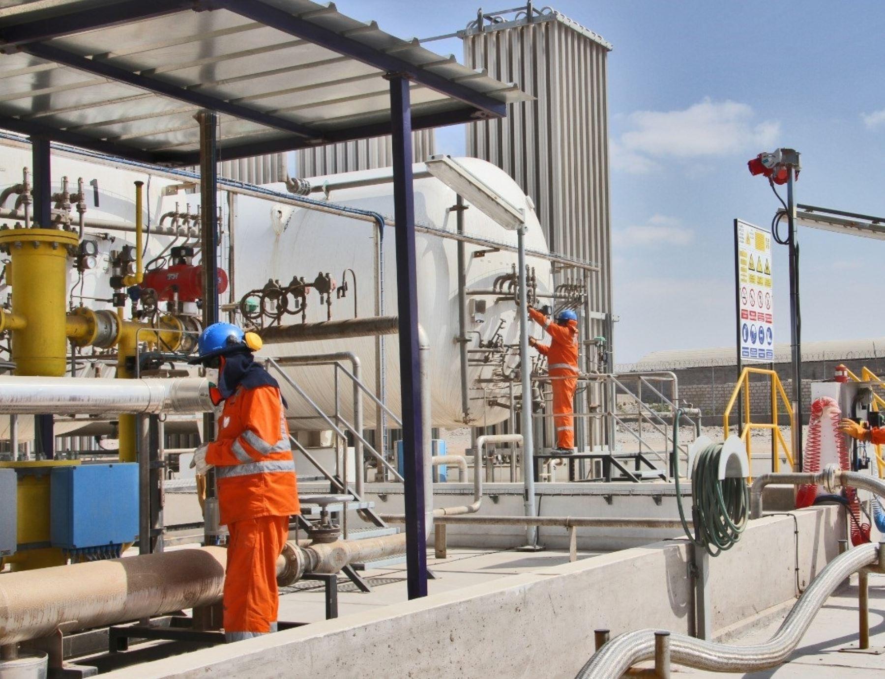 Petroperú cumple un mes administrando el servicio de gas natural en cuatro ciudades del sur de Perú. ANDINA/Difusión