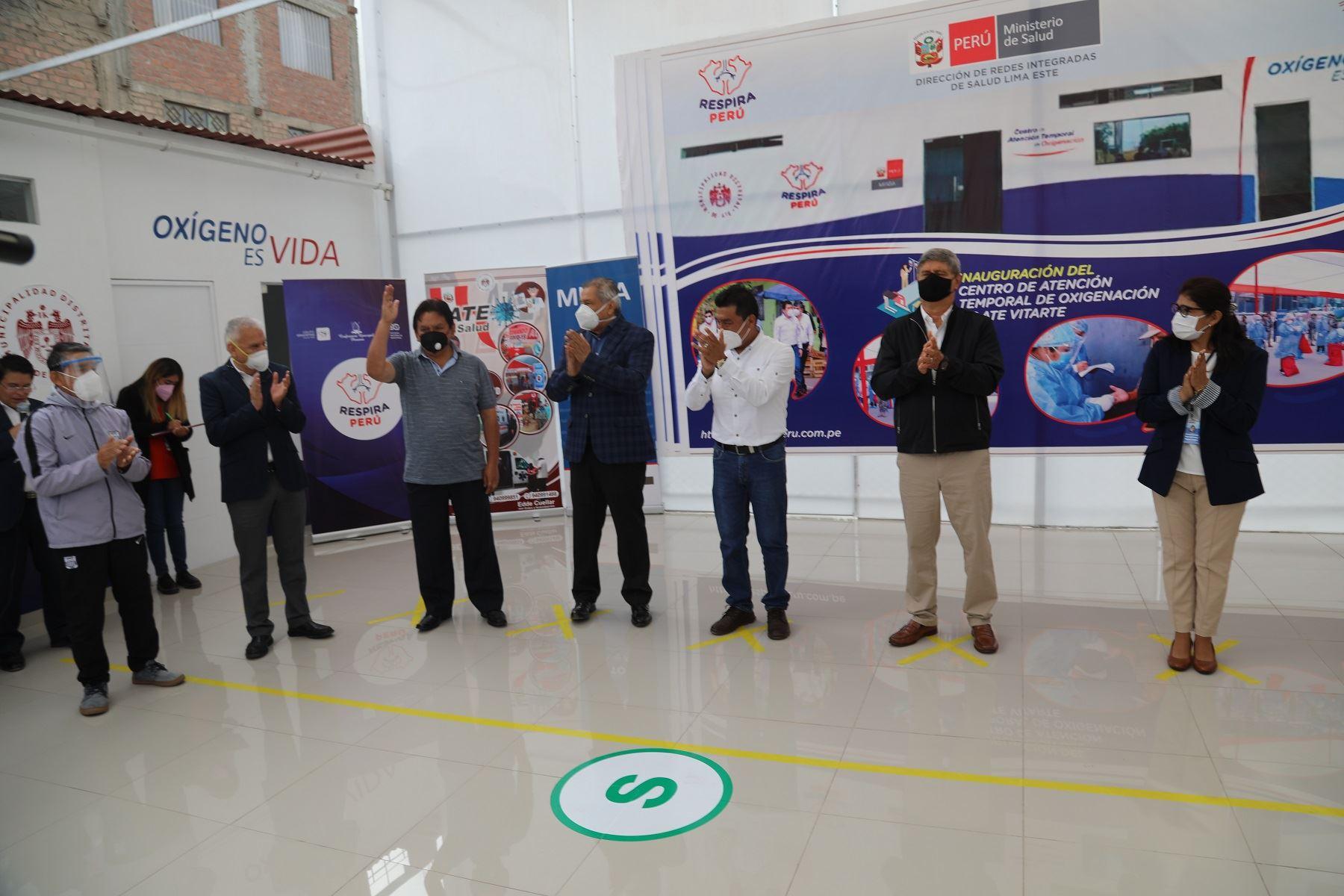 Respira Perú respalda esfuerzos por vacunas contra la covid-19 Foto: Difusión
