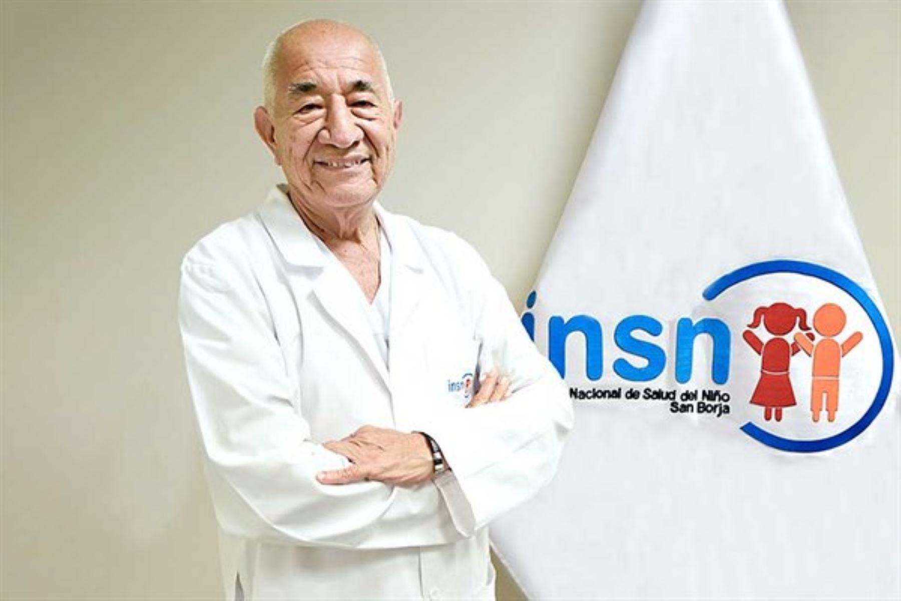 Para el doctor Roberto Ruiz Merino su mayor logros haberse formado como pediatra en uno de los principales centros especializados del Perú: el Hospital del Niño de Breña.