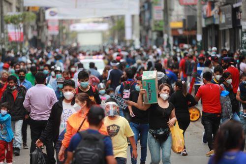 Emporio de Gamarra. Foto: ANDINA/Carla Patiño Ramírez
