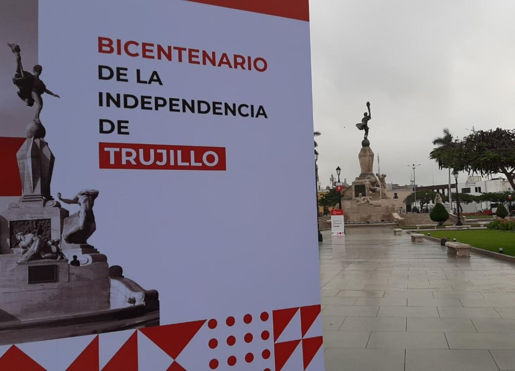 Con diversas actividades, Trujillo celebra hoy 200 años de su independencia.