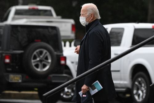 Presidente electo de Estados Unidos, Joe Biden. Foto: AFP