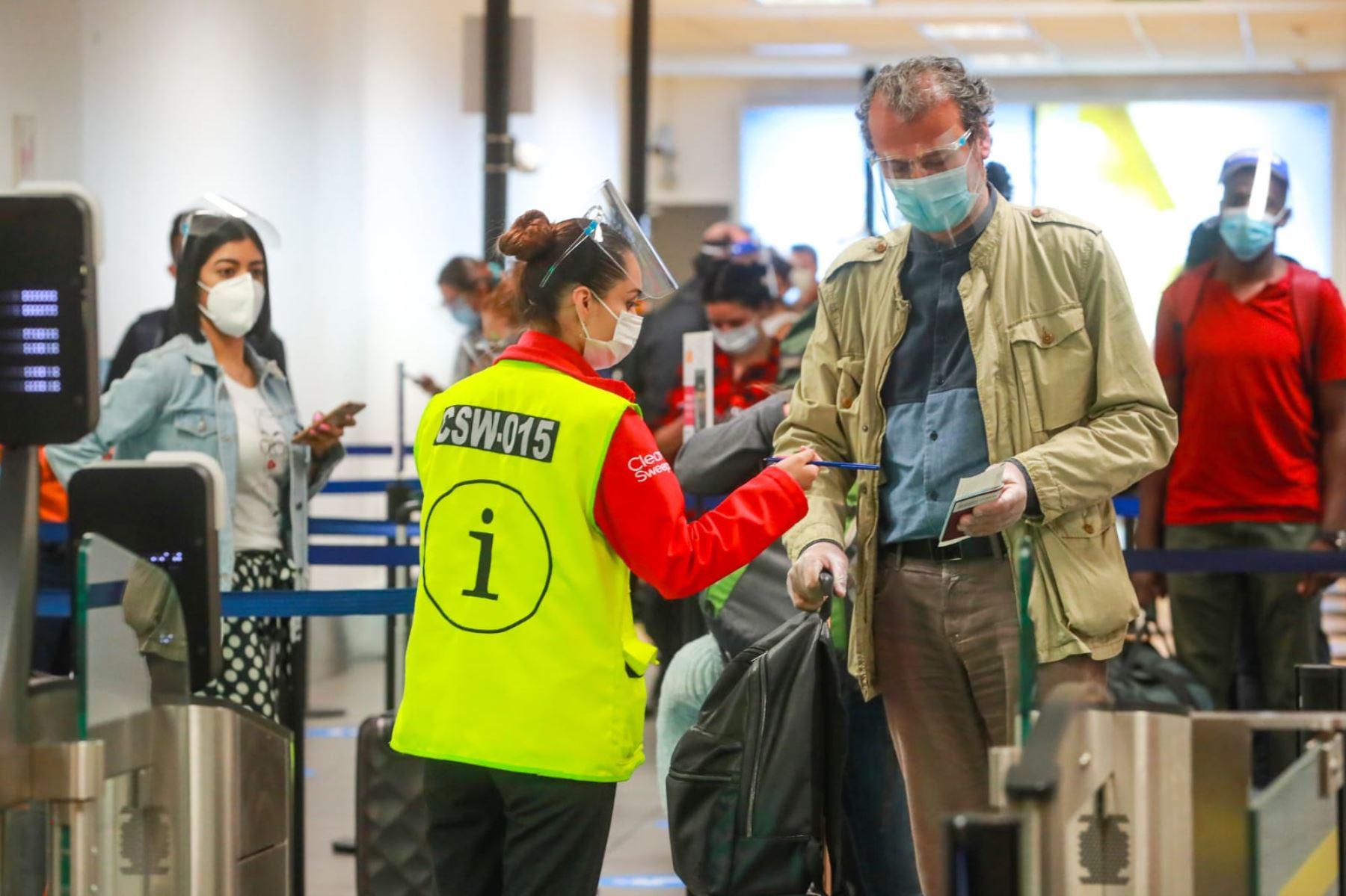 MTC prorroga por 15 días la suspensión de vuelos desde Europa. Foto: ANDINA/Difusión.