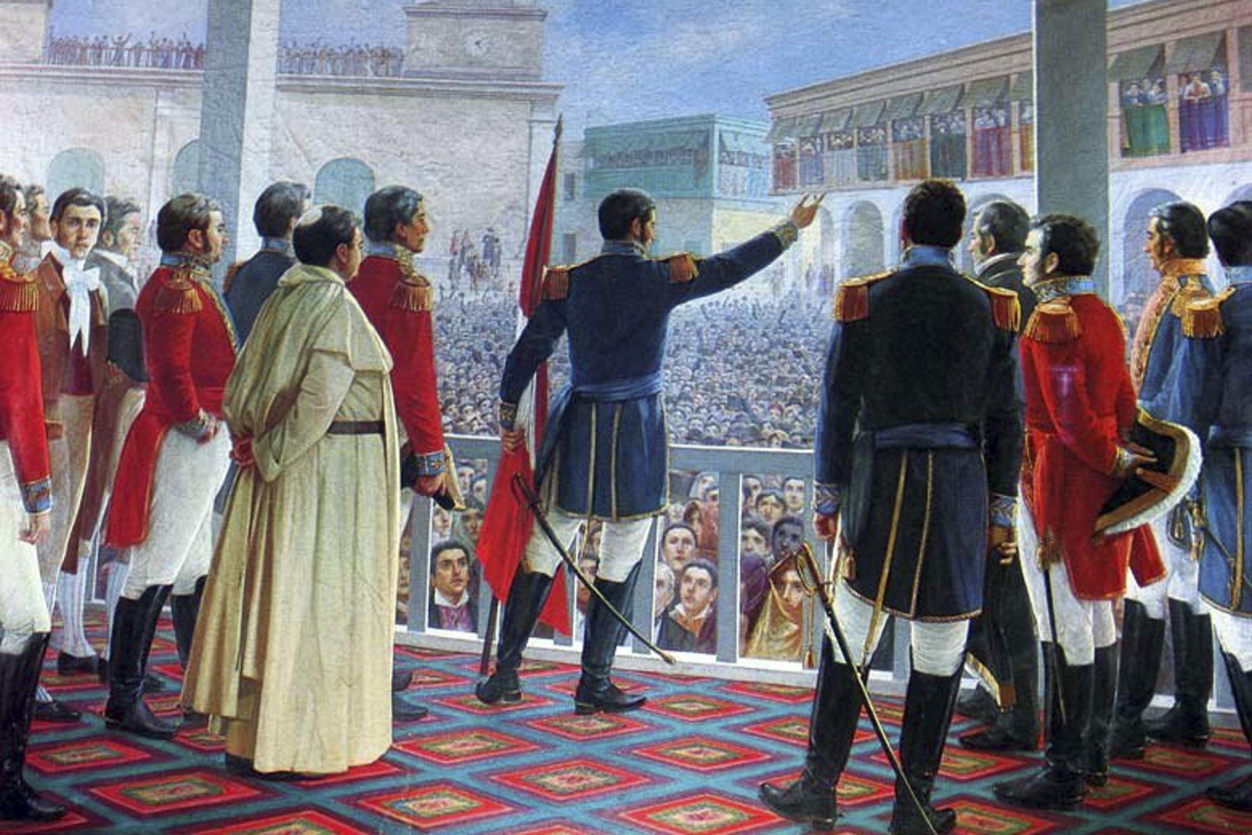 """""""Año del Bicentenario del Perú: 200 años de Independencia"""" deberá consignarse en los documentos oficiales. Foto: ANDINA."""