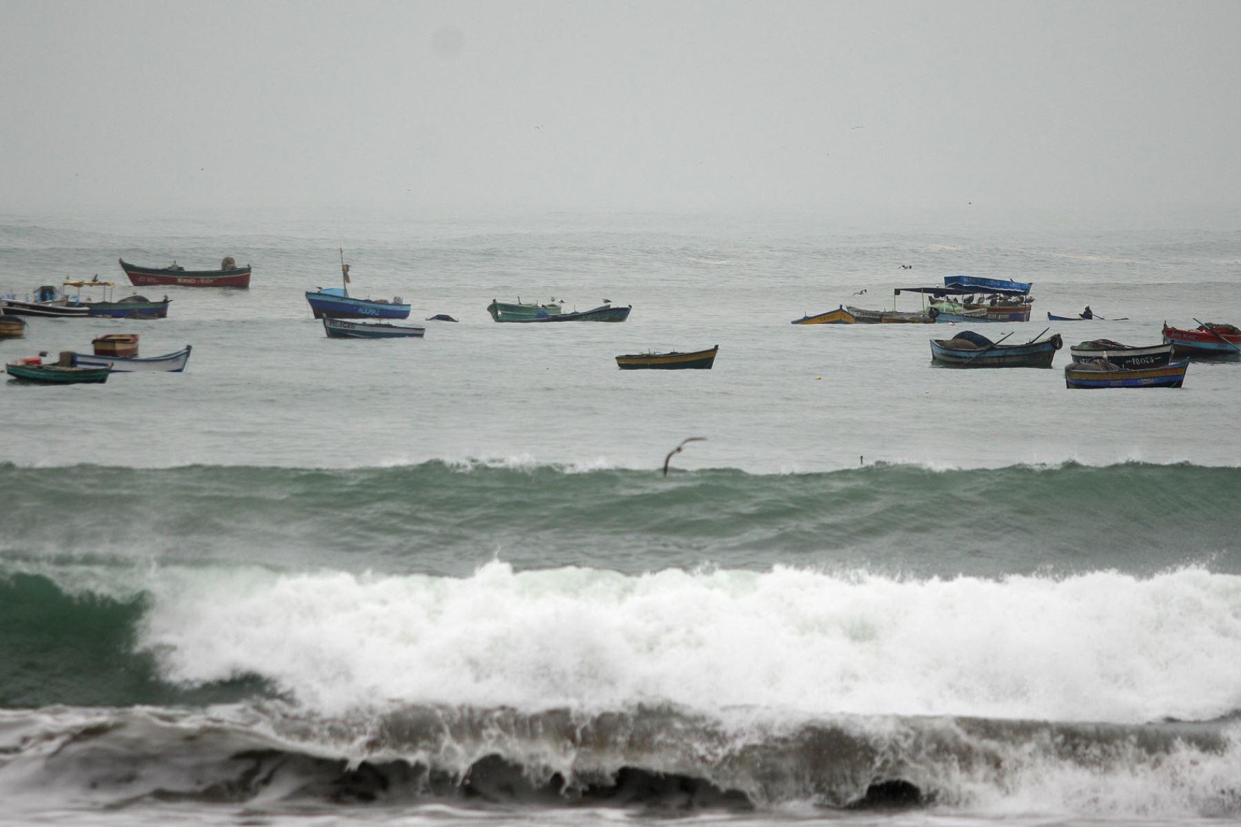 Oleajes en el litoral peruano, Foto:ANDINA/archivo.