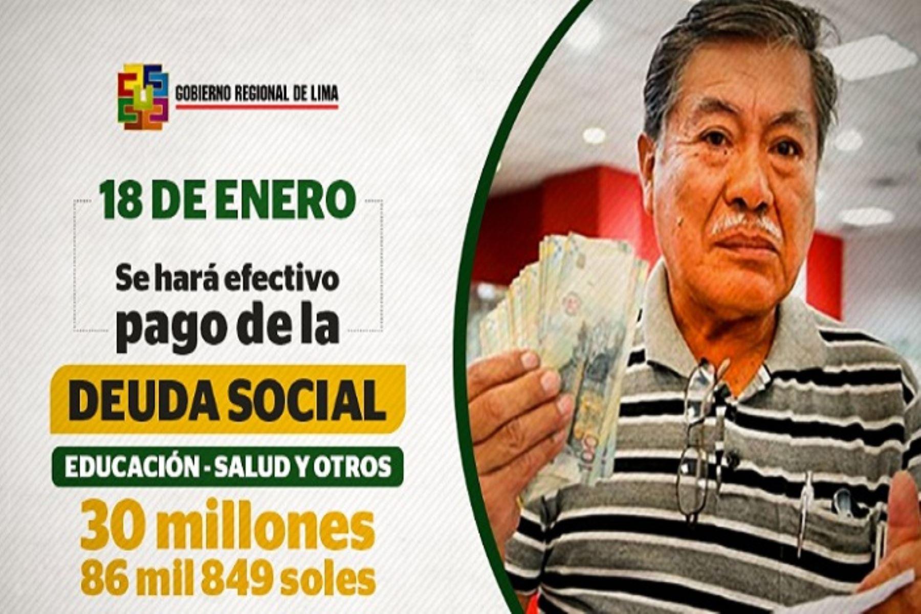 region-lima-empezara-a-pagar-deuda-social-a-partir-del-18-de-enero