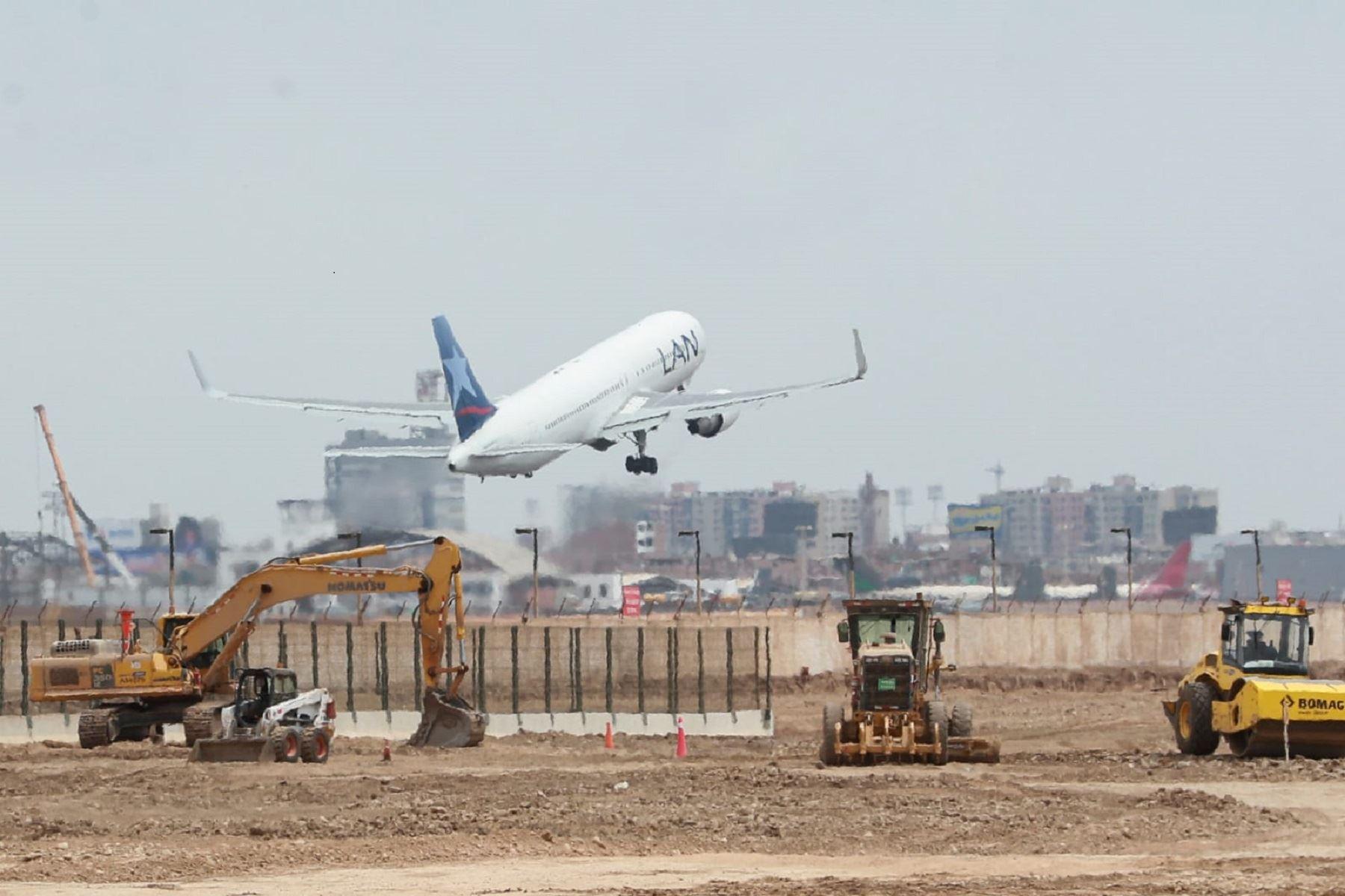 Ampliación de infraestructura aeroportuaria. Cortesía MTC