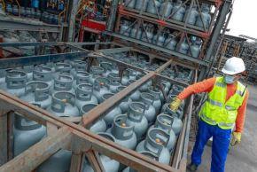 El balón de gas de 10 kilos se vende a S/ 38 en Cusco y a S/ 39 en Moquegua, luego de la inclusión del Gas Licuado de Petróleo (GLP) para envasado en el Fondo de Estabilización de Precios de los Combustibles. ANDINA/Difusión