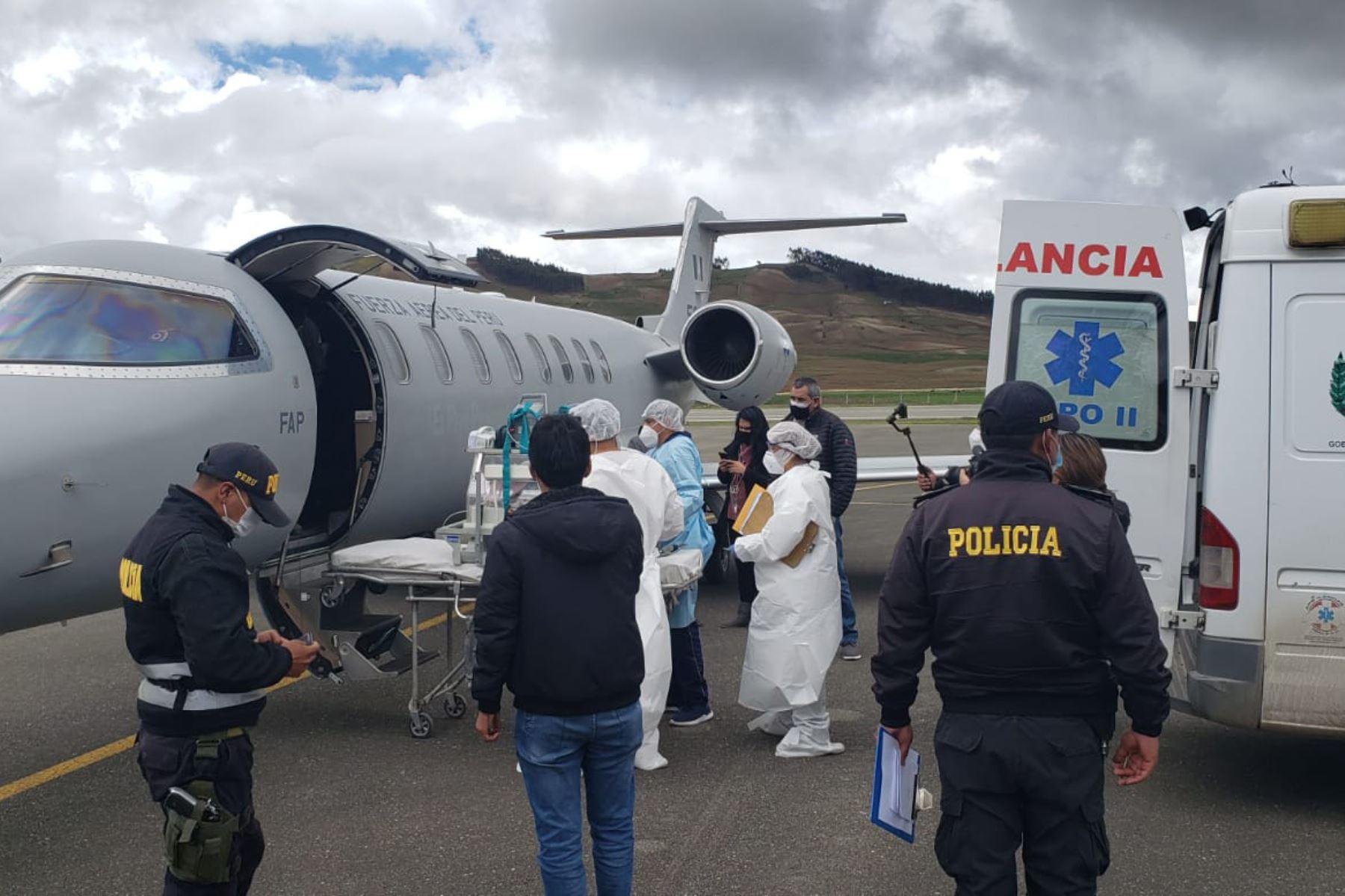 fap-evacua-por-via-aerea-a-lima-a-bebe-con-sindrome-de-dificultad-respiratoria