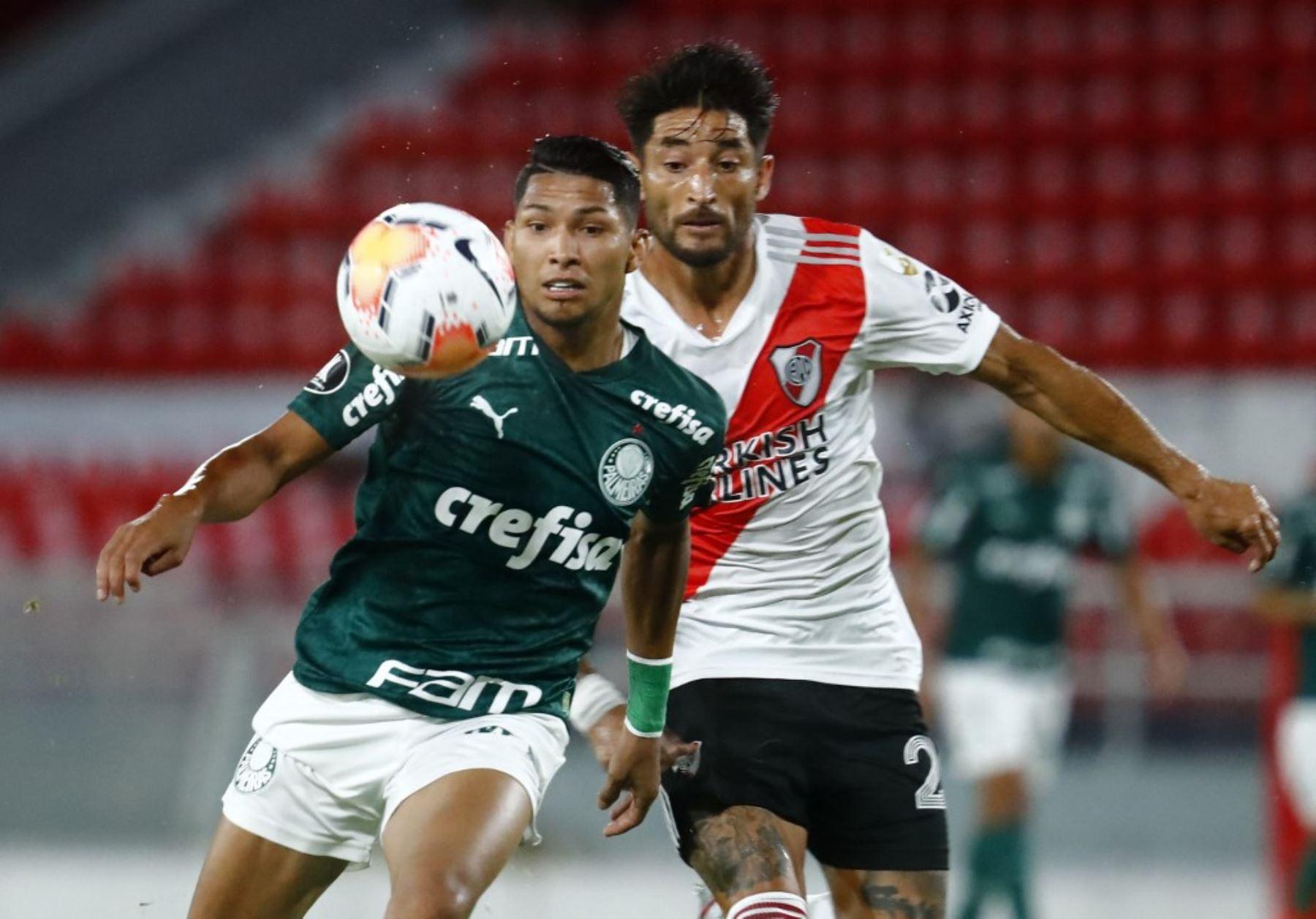 Palmeiras y River Plate se enfrentan hoy por la semifinal de la Copa Libertadores en Sao Paulo