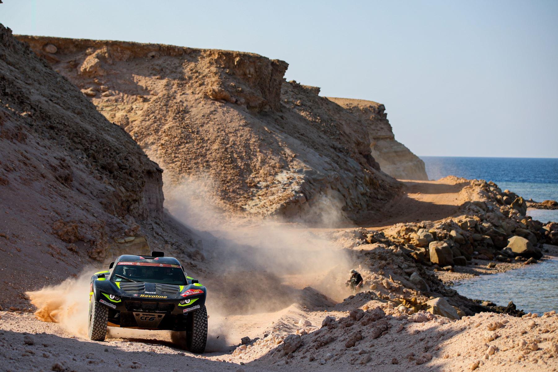 Las mejores imágenes de lo que se vive en la Etapa 9 del Dakar 2021. Foto: AFP