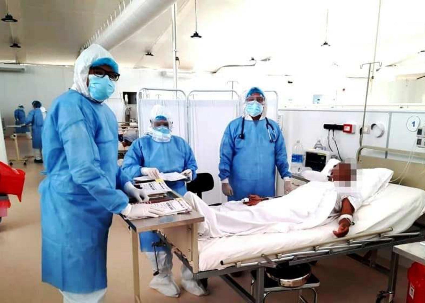 Cajamarca reporta un leve incremento de nuevos casos de coronavirus (covid-19) en la región y se atribuye esta alza de contagios a la relajación de las medidas de prevención. ANDINA/Difusión