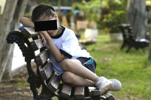 ¡Cuidado! Padres deben estar alertas ante signos de depresión en niños. Foto: ANDINA/Difusión.