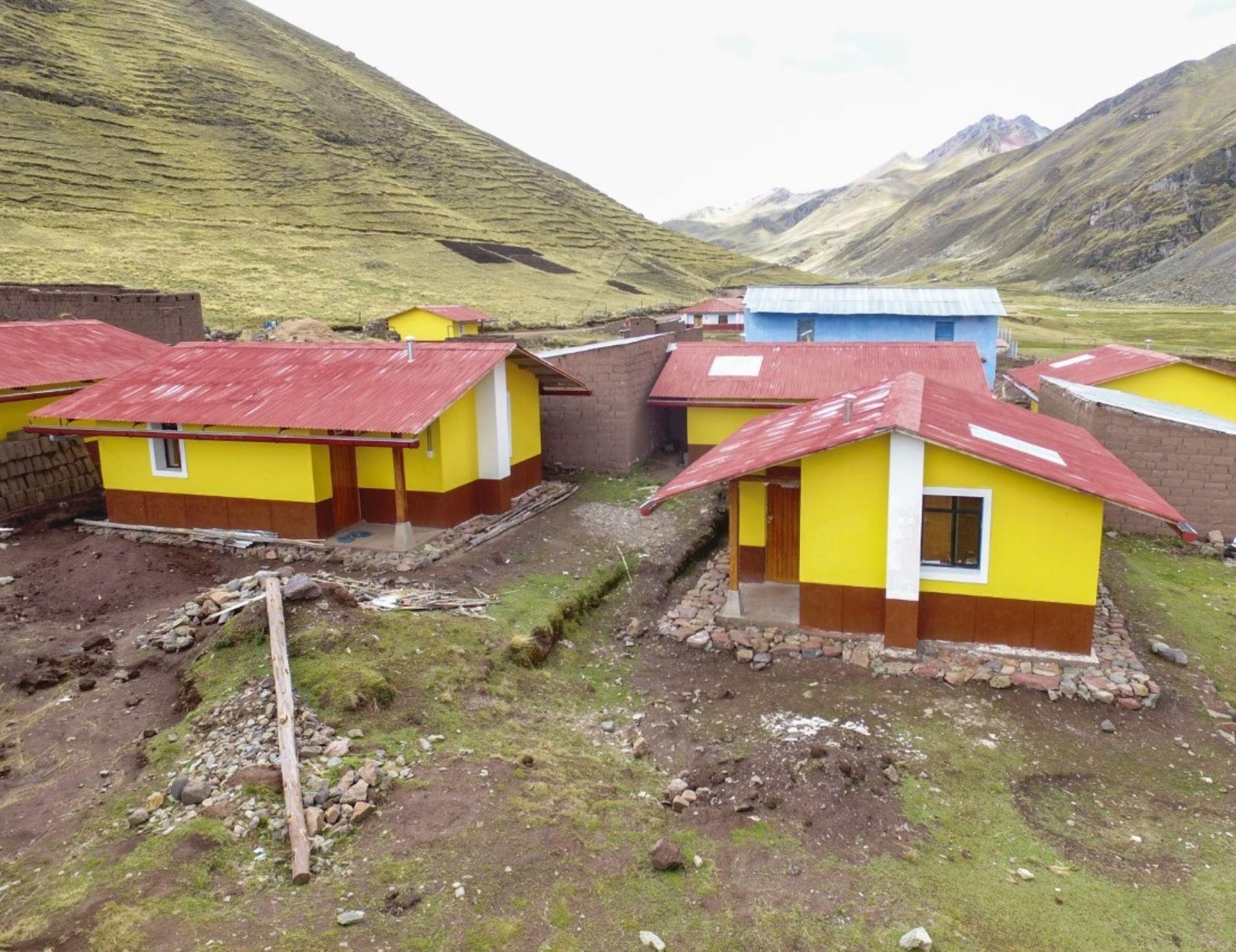 Ministerio de Vivienda construirá este año 150 viviendas bioclimáticas en Áncash. Foto: ANDINA/difusión.