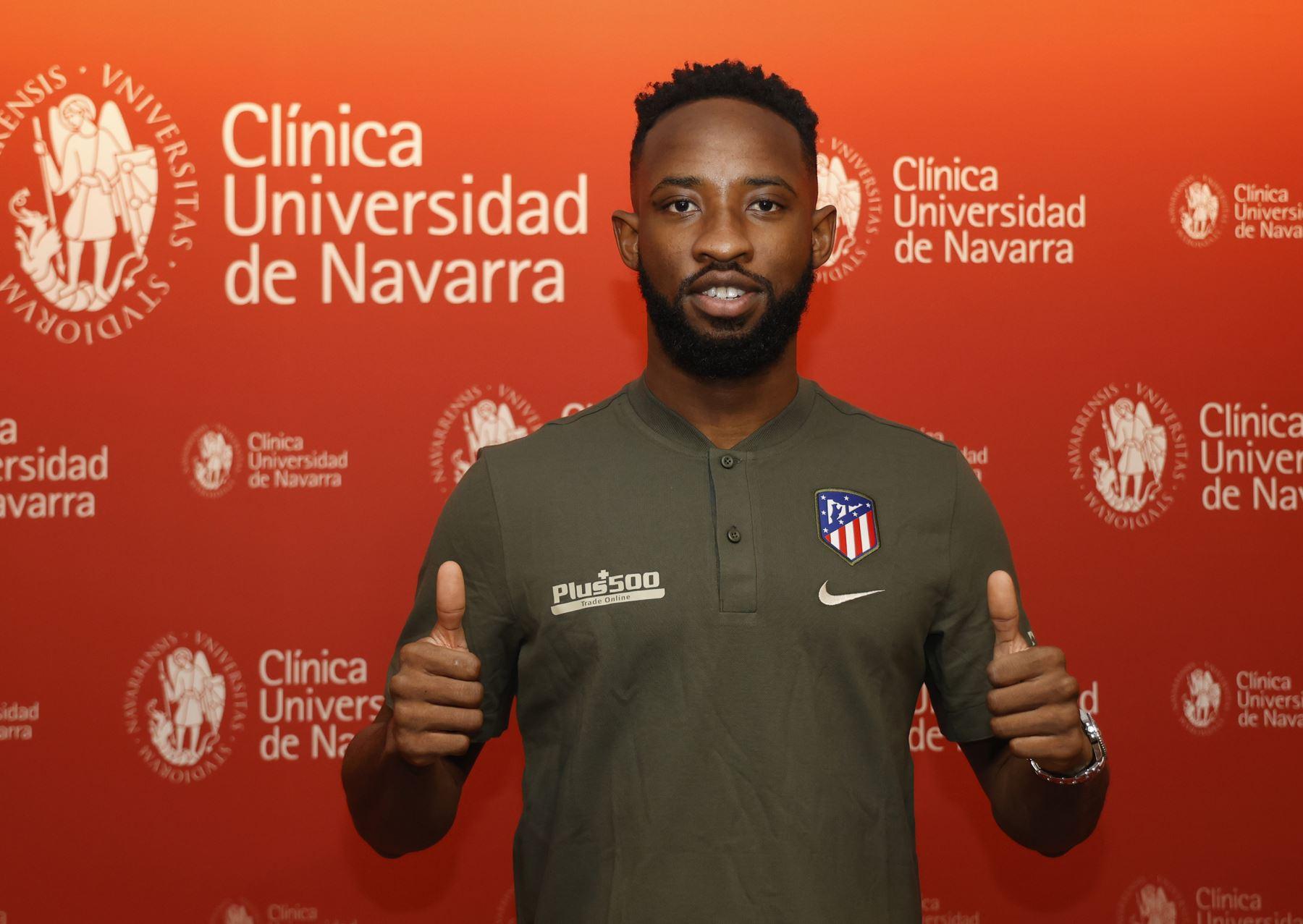 Moussa Dembélé llega al Atlético de Madrid cedido por el Lyon