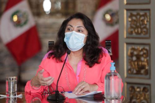 Prime Minister Violeta Bermudez. Photo: ANDINA/Presidency of the Republic.